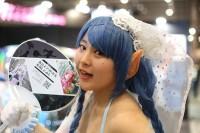 『ニコニコ超会議2018』コスプレイヤー・藤嶋えあさん<br>(『互助交通』ブース)