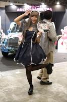 『ニコニコ超会議2018』コスプレイヤー・石川琴子さん<br>(『互助交通』ブース)