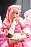 『ニコニコ超会議2018』コスプレイヤー・倉坂くるるさん<br>(『互助交通』ブース)