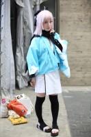 『ニコニコ超会議2018』コスプレイヤー・瑠々璃々さん<br>(『Fate/Grand Order』沖田総司)