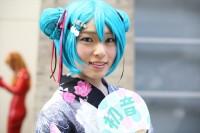『ニコニコ超会議2018』コスプレイヤー・はるかさん<br>(『初音ミク』)