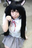 『ニコニコ超会議2018』コスプレイヤー・小島 莉音さん<br>(『けいおん!』中野梓)