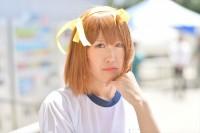 『ニコニコ超会議2018』コスプレイヤー・アオイさん<br>(『涼宮ハルヒの憂鬱』涼宮ハルヒ)