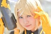 『ニコニコ超会議2018』コスプレイヤー・みゆうさん<br>(『VOCALOID』鏡音リン)