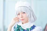 『ニコニコ超会議2018』コスプレイヤー・咲山なみさん<br>(『東方Project』十六夜咲夜)