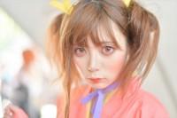『ニコニコ超会議2018』コスプレイヤー・心臓爆発さん<br>(『甲鉄城のカバネリ』無名)
