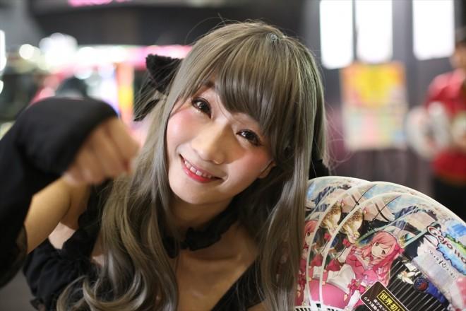 『ニコニコ超会議2018』コスプレイヤー・小幡友美さん<br>(『互助交通』ブース)