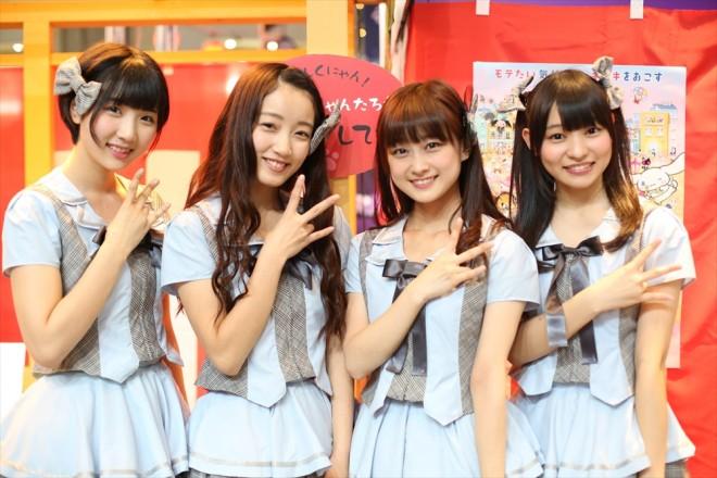 アイドルグループ・☆NonSugar<br>(『松竹超縁日』ブース)