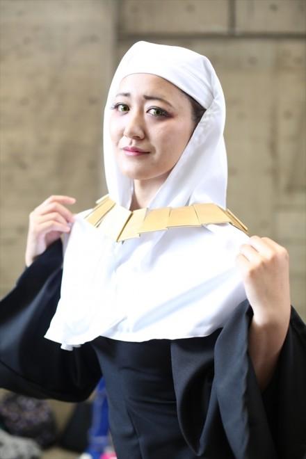 『ニコニコ超会議2018』コスプレイヤー・白鷺洲あやさん<br>(『Fate/Grand Order』殺生院キアラ)