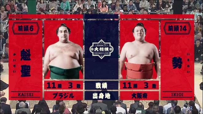 AbemaTV大相撲