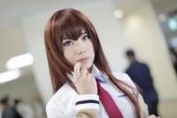 『ガタケット157』コスプレイヤー・カナタさん<br>(『シュタインズ・ゲート』牧瀬紅莉栖)