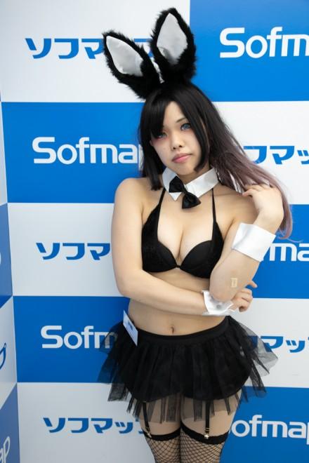 『サンクプロジェクト×ソフマップ』コスプレイヤー・夢繪さん<br>(『オリジナルバニー』)