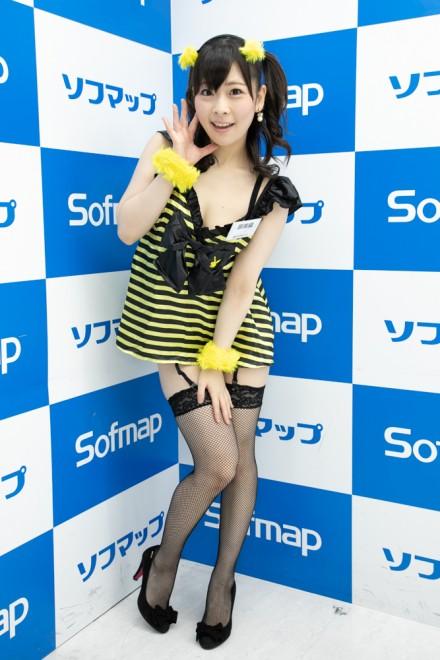 『サンクプロジェクト×ソフマップ』コスプレイヤー・原美織さん<br>(『ハチさん』)