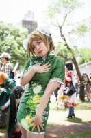 『ホココス 〜南大津通歩行者天国COSPLAY〜』コスプレイヤー・もちこさん<br>(『ラブライブ!』小泉花陽)