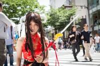 『ホココス 〜南大津通歩行者天国COSPLAY〜』コスプレイヤー・傘鶴百合さん<br>(オリジナル)