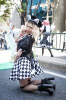 『ホココス 〜南大津通歩行者天国COSPLAY〜』コスプレイヤー・じゅりさん<br>(『ねこのおまわりさん』オリジナル)