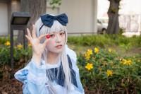 『ホココス 〜南大津通歩行者天国COSPLAY〜』コスプレイヤー・雛菊さん<br>(『K』櫛名アンナ)