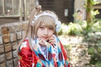 『ホココス 〜南大津通歩行者天国COSPLAY〜』コスプレイヤー・らい兎さん<br>(『ラブライブ!』南ことり)