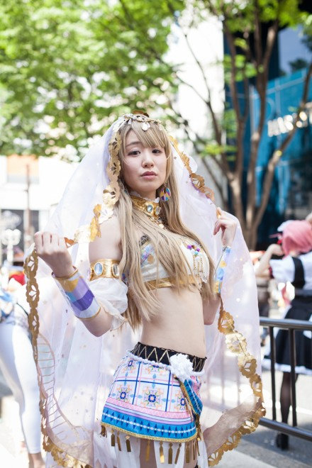『ホココス 〜南大津通歩行者天国COSPLAY〜』コスプレイヤー・りいなさん<br>(『ラブライブ!』南ことり)