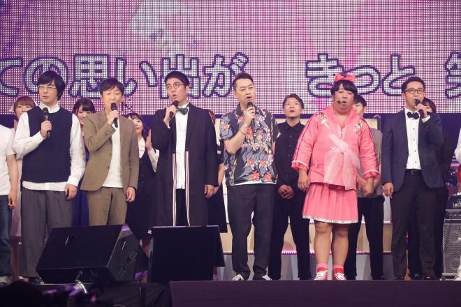 『マジ歌ライブ2018 in 横浜アリーナ〜今夜一発いくかい?〜』ステージ(C)テレビ東京