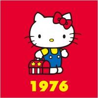 1976年 立ちポーズシリーズ 立ち上がることでキティの世界観が広がった