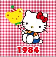 1984年 くま風船シリーズ 誕生10周年。人気がすっかり定着してきた頃。