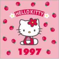 1997年 イチゴシリーズ 初期のヒット商品はいちごデザイン。当初は子ども向けだったが、幅広い年齢層から支持されるシリーズになった
