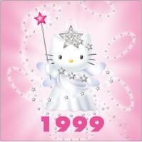1999年 フェアリーシリーズ 25周年を記念して友情の女神に変身。キティは友情の大切さをもっと世界に広めたいと思っているそう。