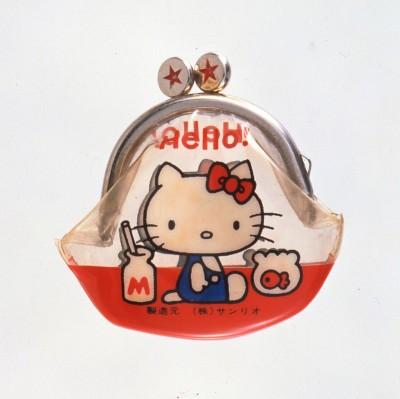 記念すべき第一号商品の「がまぐち」(1975年)