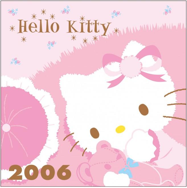 2006年 クマピンクシリーズ 1982年に登場して以来、クマはキティに一番のお友達。優しいイメージが人気を博した。