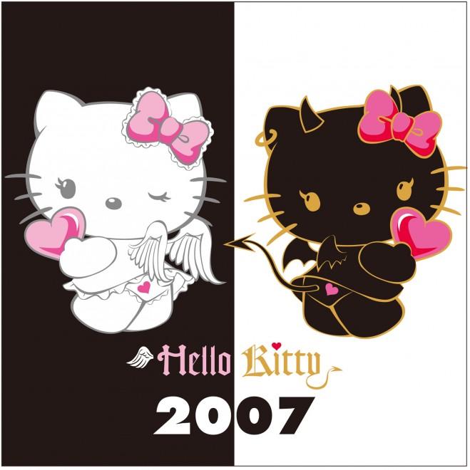 2007年 天使・小悪魔シリーズ スウィートな「キティ天使」とクールな「キティ小悪魔」カワイイ・カッコいいだけで物足りない女の子のために登場したデザイン