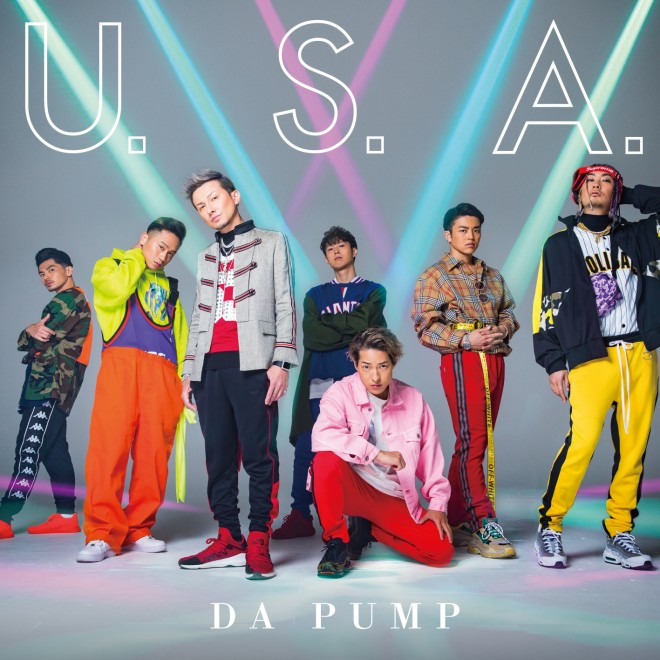 「U.S.A. 」初回限定生産盤B ジャケット