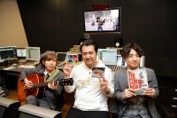 (左から)Official 髭男dismの小笹大輔、小手伸也、Official 髭男dismの藤原聡