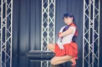 『acosta!(アコスタ)×ハコスタジアム東京@ビビット南船橋』コスプレイヤー・あんずさん<br>(『美少女戦士セーラームーン』セーラーマーズ)