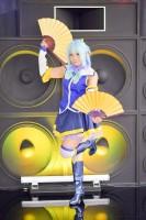 『acosta!(アコスタ)×ハコスタジアム東京@ビビット南船橋』コスプレイヤー・羽月ミアさん<br>(『この素晴らしい世界に祝福を! 』アクア)