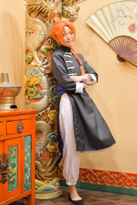 『acosta!(アコスタ)×ハコスタジアム東京@ビビット南船橋』コスプレイヤー・ラフさん<br>(『銀魂』神威)