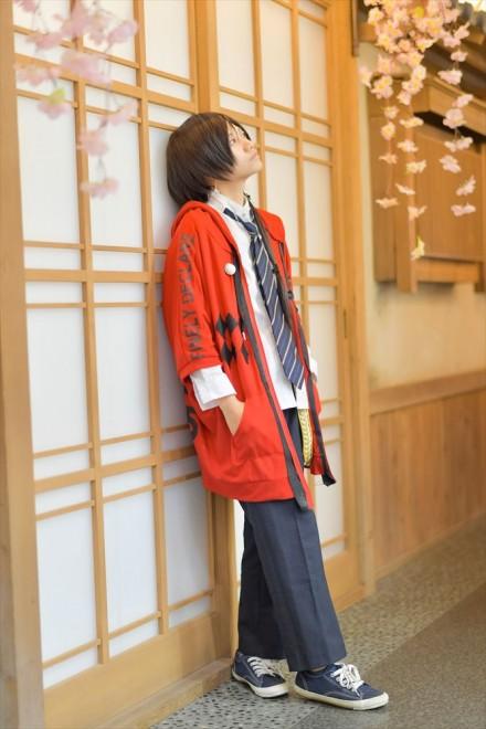 『acosta!(アコスタ)×ハコスタジアム東京@ビビット南船橋』コスプレイヤー・きなっぴーさん<br>(『刀剣乱舞』加州清光)