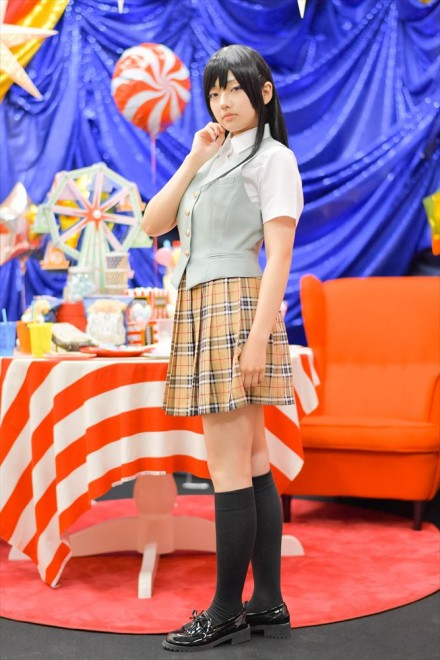 『acosta!(アコスタ)×ハコスタジアム東京@ビビット南船橋』コスプレイヤー・聖さん<br>(『citrus』藍原芽衣)