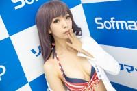 『サンクプロジェクト×ソフマップ』コスプレイヤー・よだれさん<br>(『オリジナル』水着)