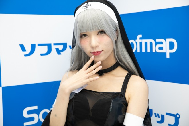 『サンクプロジェクト×ソフマップ』コスプレイヤー・あーにゃんさん<br>(『オリジナル』シスター)