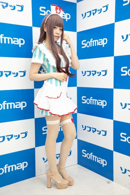 『サンクプロジェクト×ソフマップ』コスプレイヤー・ぎゃむこさん<br>(『オリジナル』ナース)
