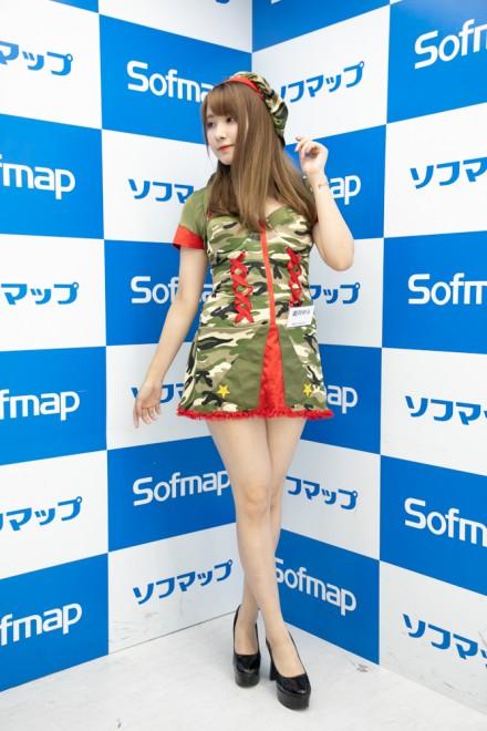 『サンクプロジェクト×ソフマップ』コスプレイヤー・遊月ゆらさん<br>(『オリジナル』アーミー)