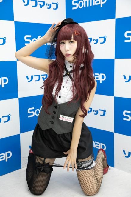 『サンクプロジェクト×ソフマップ』コスプレイヤー・げろた*さん<br>(『オリジナル』ショーガール)