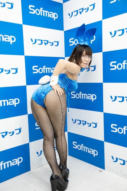 『サンクプロジェクト×ソフマップ』コスプレイヤー・無無田さん<br>(『オリジナル』バニー)