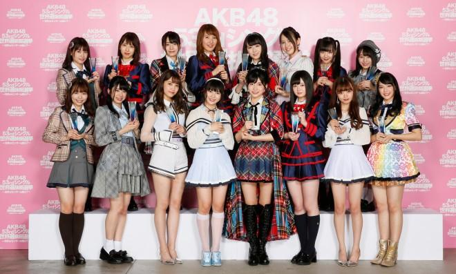 『第10回AKB48 世界選抜総選挙』33位〜48位「ネクストガールズ」