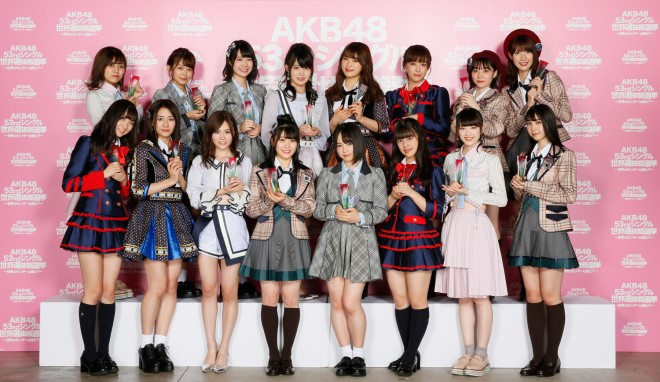 『第10回AKB48 世界選抜総選挙』49位〜64位「フューチャーガールズ」