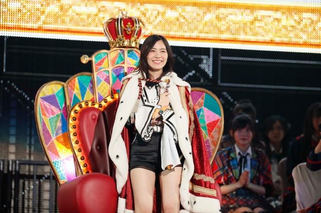 『第10回AKB48 世界選抜総選挙』1位 松井珠理奈