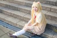 『acosta!(アコスタ)@大阪南港ATC SUPER!』コスプレイヤー・うるさん<br>(『アイドルマスター シンデレラガールズ』城ケ崎莉嘉)