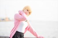 『acosta!(アコスタ)@大阪南港ATC SUPER!』コスプレイヤー・くるさん<br>(『アイドルマスター シンデレラガールズ』宮本フレデリカ)