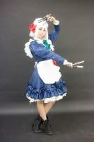 『acosta!(アコスタ)@大阪南港ATC SUPER!』コスプレイヤー・のん。さん<br>(『東方Project』十六夜咲夜)